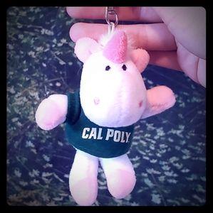 Like New Cal Poly Unicorn Keychain